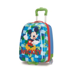 "Disney Mickey Mouse 18"" Hardside Upright Roller Bag"