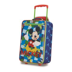 "Disney Mickey Mouse 18"" Softside Upright Roller Bag"