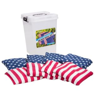 Triumph Sports - Patriotic Bean Bags w/ Tub Container