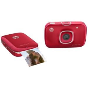 Sprocket 2 in 1 Photo Printer - (Red)