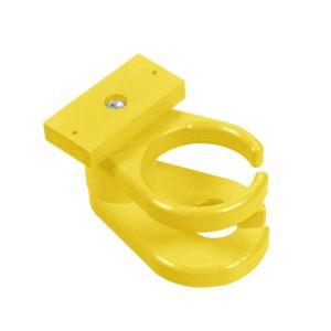 Adirondack Cup & Wine Glass Holder - Yellow