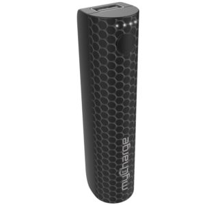 StylePower 2200mAh Rechargeable Power Bank Black Dots