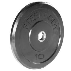 SteelBody 10 lb. Olympic Bumper Plate