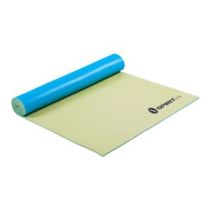 "Yoga Mat 24"" x 69"" x 5mm Lemon/Teal"