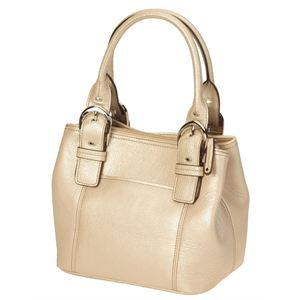 French Tote in Rose Metal