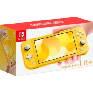 "Switch Lite Console w/ 5.5"" display - Yellow"