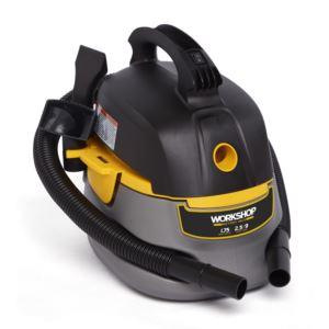 Portable Wet/Dry Vac - 2.5 Gallon 1.75 Peak HP