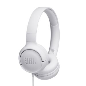 Wired On-Ear Headphones - White