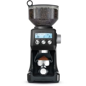 Smart Grinder Pro with Adjustable Dose Control in Black Sesame