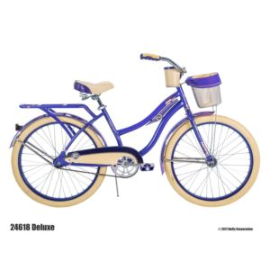 "Deluxe - 24"" Women's Young Adult Cruiser Bicycle"