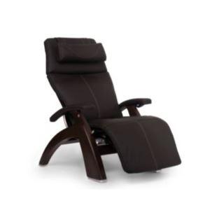 Perfect Chair - Dark Walnut Electric Base with Espresso Premium Leather