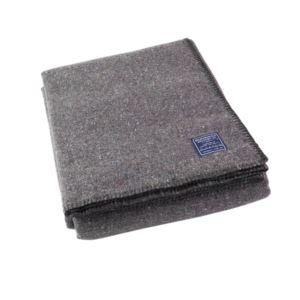 Utility Wool Throw - Gray