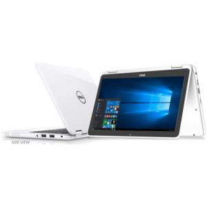 """11.6"""" Inspiron 2-in-1 Notebook-White"""