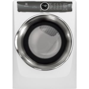 Perfect Steam Electric Dryer  -White,8.0 Cu. Ft.