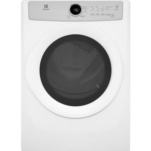 Front Load Electric Dryer - White, 8.0 Cu. Ft.