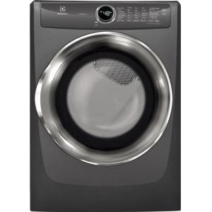 Pefect Steam Electric Dryer - Titanium, 8.0 Cu. Ft