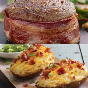 Steak & Bake Combo
