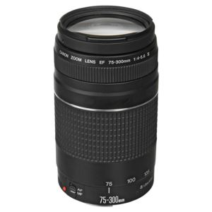 EF 75-300mm Telephoto Zoom Lens