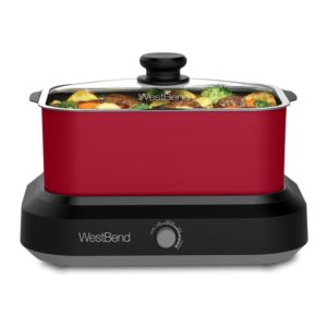 5 Qt. Versatility Slow Cooker with Red Tote and Lid