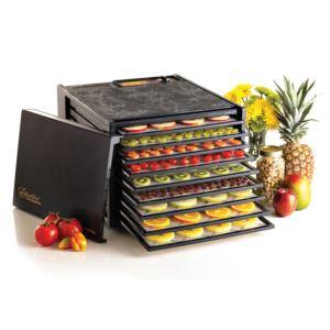 Excalibur - 9-Tray Electric Food Dehydrator - Black