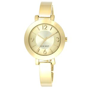 Women's Gold-Tone Bangle Bracelet Watch