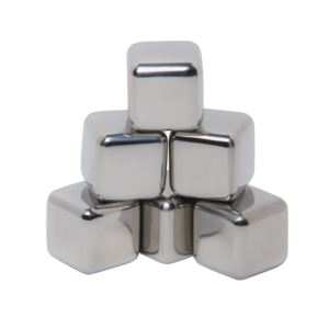 Stainless Ice Cubes