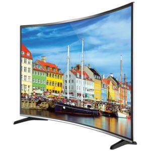 "55"" 4K UHD Curved LED TV"