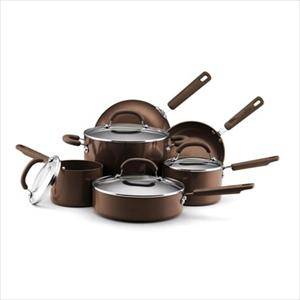 10pc Cookware Set (Espresso)