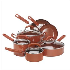 10pc Cookware Set (Terra Cotta)