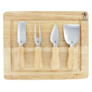 4pc Cheese Knife Set w/ Cutting Board