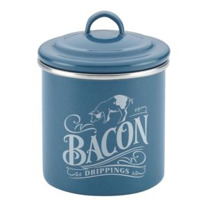 Bacon Grease Can Twilight Teal