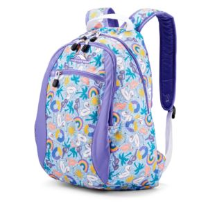 Curve Backpack Pool Party/Lavender/White