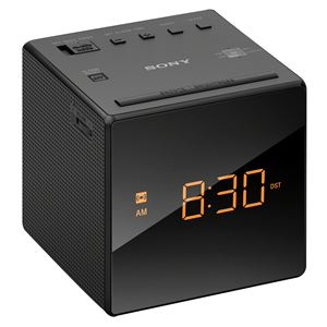 Clock Radio Black