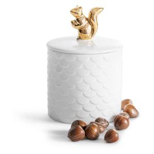 Squirrel jar with lid