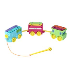 Pull Along Zig-Zag Xylo Train Ages 18+ Months