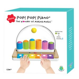 Pop! Pop! Piano Toy Ages 12+ Months