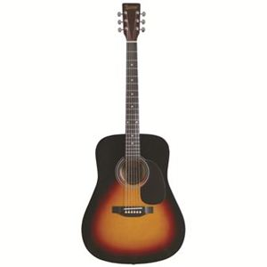 Lauren LA125 Dreadnought Guitar, Vintage Sunburst-