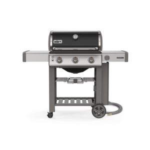 Genesis II E-310 NG Black With 21 Inch Grill Brush&Premium Grill Cover - Genesis II 300 Series
