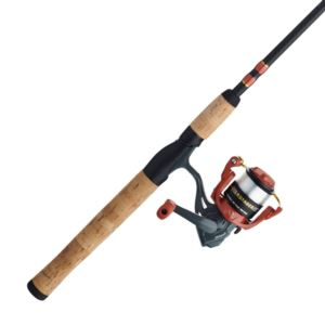 Crusader Spinning Combo 2pc 6ft 25 Reel