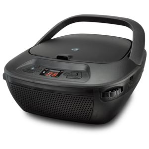 Bluetooth Boombox w/CD, Radio