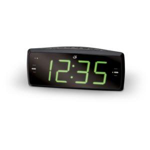 "Clock Radio, Dual Alarm,"" 1.8"" LED"