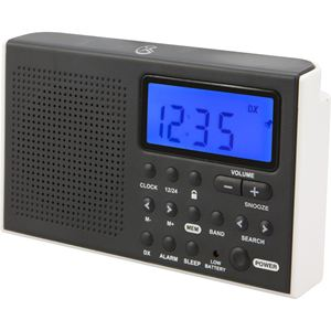 Portable AM/FM Shortwave Radio with Alarm