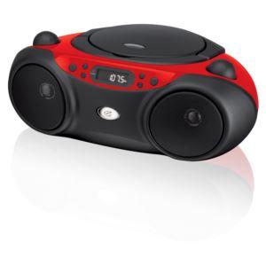 Sport CD AM/FM Boombox (Red)
