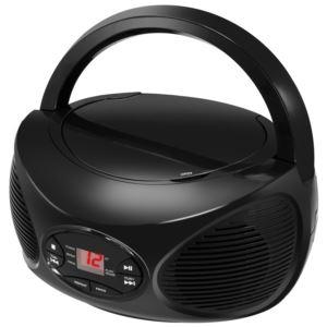 Bluetooth CD Boombox with FM Radio