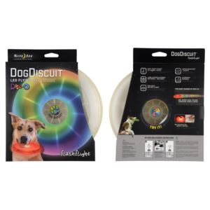 Flashflight Dog Discuit LED Flying Disc, two pack