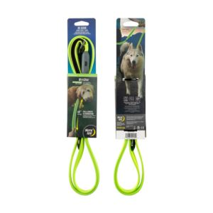 Nite Dog Rechargeable LED Pet Leash - Lime/Green