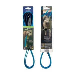 Nite Dog Rechargeable LED Pet Leash - Blue/Blue