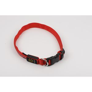 Nite Dawg LED Collar, red, two pack