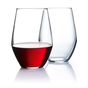 19oz Concerto Stemless Wine Glasses Set of 12