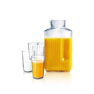 7pc Juice Pitcher & Glass Set